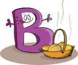 Buchstabe B vom Alphabet des selbstbestimmten Lebens