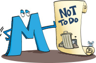 Buchstabe M - Alphabet des selbstbestimmten Lebens