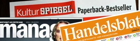 SPIEGEL-Bestseller + Handelsblatt-Bestseller + ManagerMagazin-Bestseller