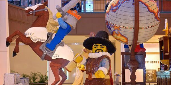 Was Lego mit einem spanischen Eroberer und Ihrer Zukunft zu tun hat