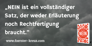 Nein, Buch, Bestseller-Autoren, Anja Förster, Peter Kreuz