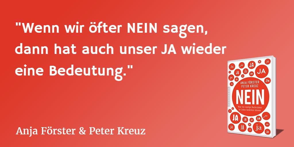 Nein, Ja, Freiheit, Anja Förster, Peter Kreuz