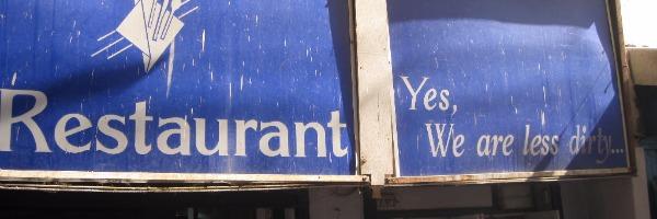 Ein Restaurant in Varanasi: Der Fluch des Selbstverständlichen
